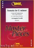 Okładka: Corelli Arcangelo, Sonata in G minor for Cornet and Euphonium