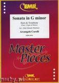 Okładka: Corelli Arcangelo, Sonata in G minor for Horn and Trobmone