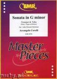 Okładka: Corelli Arcangelo, Sonata in G minor for Trumpet and Tuba