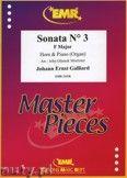 Okładka: Galliard Johann Ernst, Sonata N° 3 in F major - Horn
