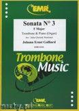 Okładka: Galliard Johann Ernst, Sonata N° 3 in F major - Trombone