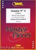 Okładka: Galliard Johann Ernst, Sonata N° 4 in E minor - Horn