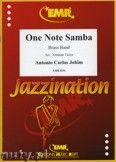 Okładka: Jobim Antonio Carlos, One Note Samba - BRASS BAND
