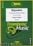 Okładka: Campra André, Rigaudon - Trombone