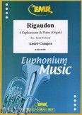 Okładka: Campra André, Rigaudon for 4 Euphoniums and Piano (Organ)