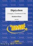 Okładka: Raue Reinhard, Diptychon for 3 Trumpets, 3 Trombones and Tuba