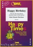 Okładka: Mortimer John Glenesk, Happy Birthday for Flute and Alto Saxophone