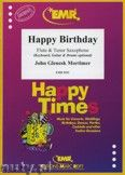 Okładka: Mortimer John Glenesk, Happy Birthday for Flute and Tenor Saxophone