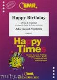 Okładka: Mortimer John Glenesk, Happy Birthday for Oboe and Clarinet