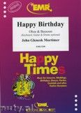 Okładka: Mortimer John Glenesk, Happy Birthday for Oboe and Bassoon