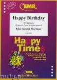 Okładka: Mortimer John Glenesk, Happy Birthday - CLARINET