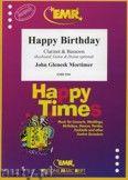 Okładka: Mortimer John Glenesk, Happy Birthday for Clarinet and Bassoon