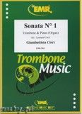 Okładka: Cirri Giambattista, Sonata N° 1  - Trombone