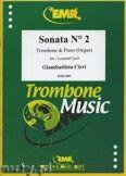 Okładka: Cirri Giambattista, Sonata N° 2  - Trombone
