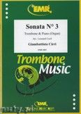 Okładka: Cirri Giambattista, Sonata N° 3  - Trombone