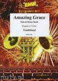 Okładka: Mortimer John Glenesk, Amazing Grace (Bagpipe Solo) - BRASS BAND