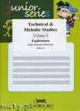 Okładka: Mortimer John Glenesk, Technical & Melodic Studies Vol. 3 - Euphonium