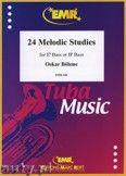 Okładka: Boehme Oskar, 24 Melodic Studies - Tuba
