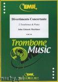 Okładka: Mortimer John Glenesk, Divertimento Concertante - Trombone