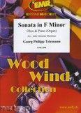 Okładka: Telemann Georg Philipp, Sonata in F minor - Oboe