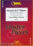 Okładka: Telemann Georg Philipp, Sonata in F minor - CLARINET