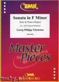Okładka: Telemann Georg Philipp, Sonata in F minor - Horn