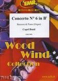 Okładka: Bond Capel, Concerto Nr. 6 in Bb - BASSOON