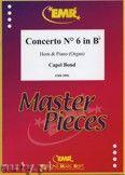 Okładka: Bond Capel, Concerto Nr. 6 in Bb - Horn
