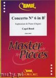 Okładka: Bond Capel, Concerto Nr. 6 in Bb - Euphonium