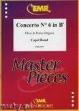 Okładka: Bond Capel, Concerto Nr. 6 in Bb - Oboe
