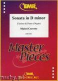 Okładka: Corrette Michel, Sonata in D minor - CLARINET