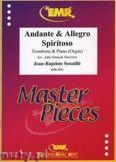 Okładka: Senaille Jean-Baptiste, Andante & Allegro Spiritoso - Trombone
