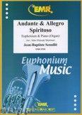 Okładka: Senaille Jean-Baptiste, Andante & Allegro Spiritoso - Euphonium
