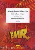 Okładka: Marcello Benedetto, Adagio - Largo - Allegretto - Flute