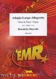 Okładka: Marcello Benedetto, Adagio - Largo - Allegretto - Oboe
