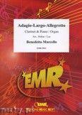 Okładka: Marcello Benedetto, Adagio - Largo - Allegretto - CLARINET