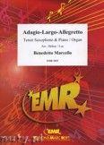Okładka: Marcello Benedetto, Adagio - Largo - Allegretto - Saxophone