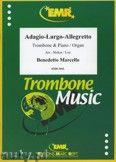 Okładka: Marcello Benedetto, Adagio - Largo - Allegretto - Trombone