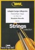 Okładka: Marcello Benedetto, Adagio - Largo - Allegretto - Orchestra & Strings
