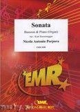 Okładka: Porpora Nicola Antonio, Sonate F-Dur  - BASSOON