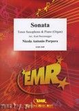 Okładka: Porpora Nicola Antonio, Sonate F-Dur  - Saxophone