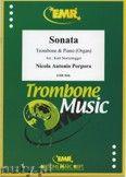 Okładka: Porpora Nicola Antonio, Sonate F-Dur  - Trombone