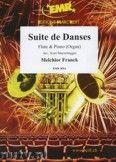 Okładka: Franck Melchior, Suite de Danses  - Flute