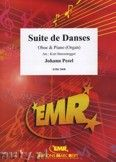 Okładka: Pezel Johann Christoph, Suite de Danses  - Oboe