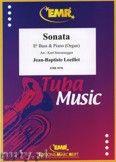Okładka: Loeillet Jean-Baptiste, Sonate en Do Majeur  - Tuba