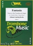 Okładka: Krebs Johann Ludwig, Fantasia  - Trombone