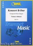 Okładka: Albinoni Tomaso, Konzert B-Dur - Trumpet