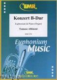 Okładka: Albinoni Tomaso, Konzert B-Dur - Euphonium