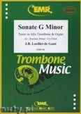 Okładka: Loeillet Jean-Baptiste, Sonate g-moll - Trombone
