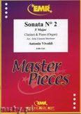 Okładka: Vivaldi Antonio, Sonata N° 2 in F major - CLARINET